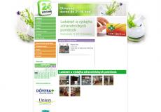 screenshot der web seite lekaren24.sk