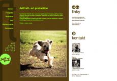 fotografia web stránky artcraft.sk