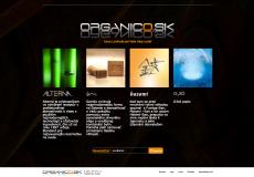 fotografia web stranky organico.sk