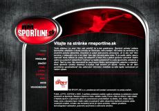fotografia web stránky rmsportline.sk
