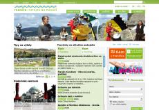 fotografia web stránky visittrencin.sk