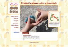 fotografia web stránky vnimavehracky.sk