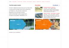 screenshot der web seite trencinsity.sk